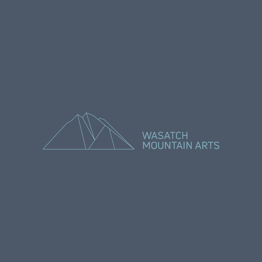 Branding and Identity for Wasatch Mountain Arts