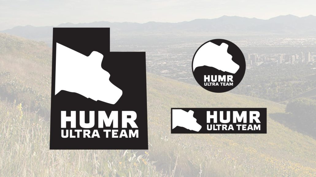 HUMR Ultra Running Team Logo Design