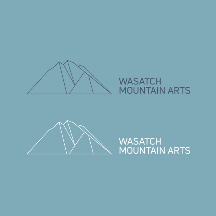 Wasatch Mountain Arts Identity and Logo Design