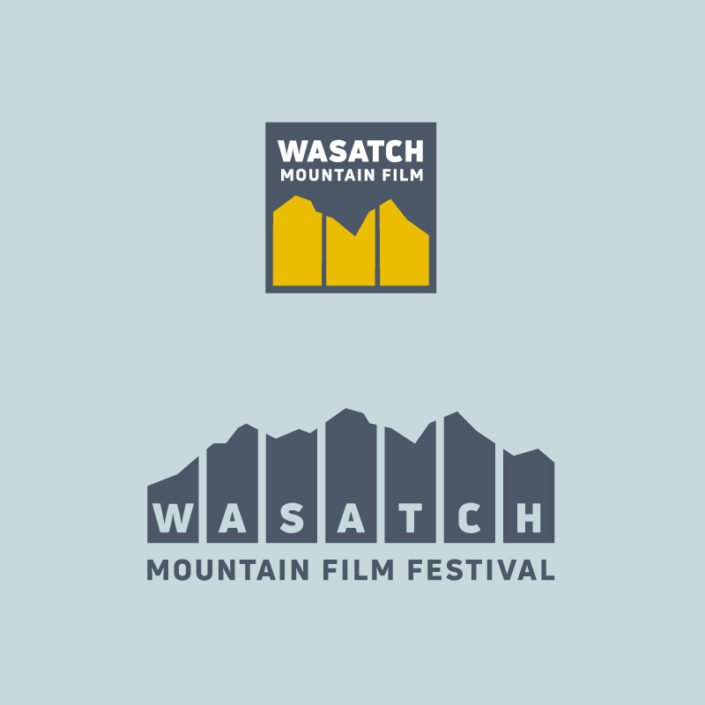 Wasatch Mountain Film Festival Logo and Identity Design