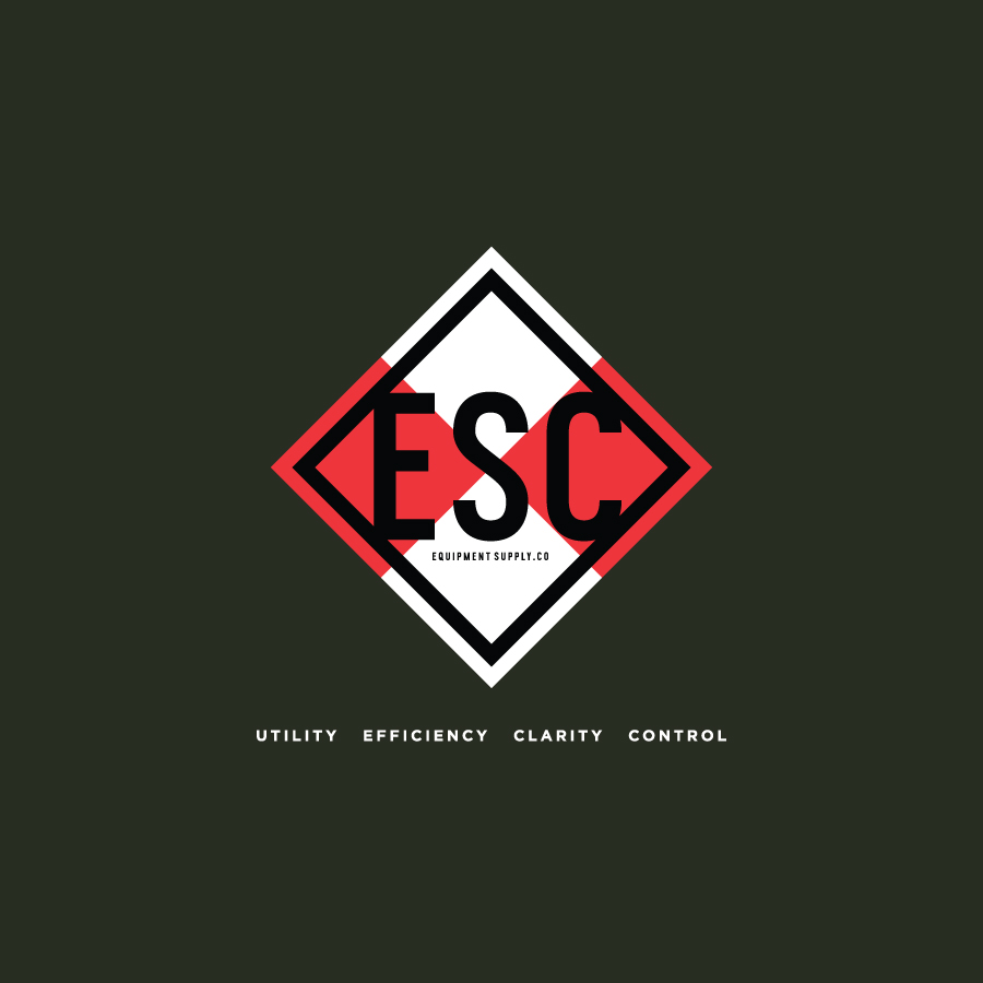 Equipment Supply Co Identity Design