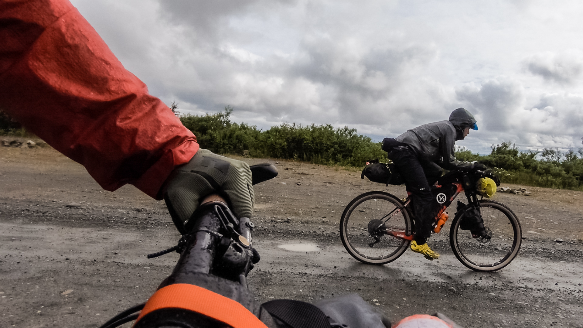 Bikepacking in Alaska | Heading North from Valdez