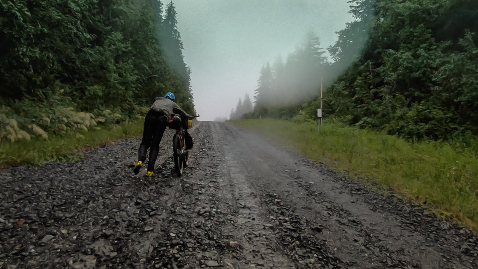 Bikepacking Alaska | Steep has a different meaning in Alaska