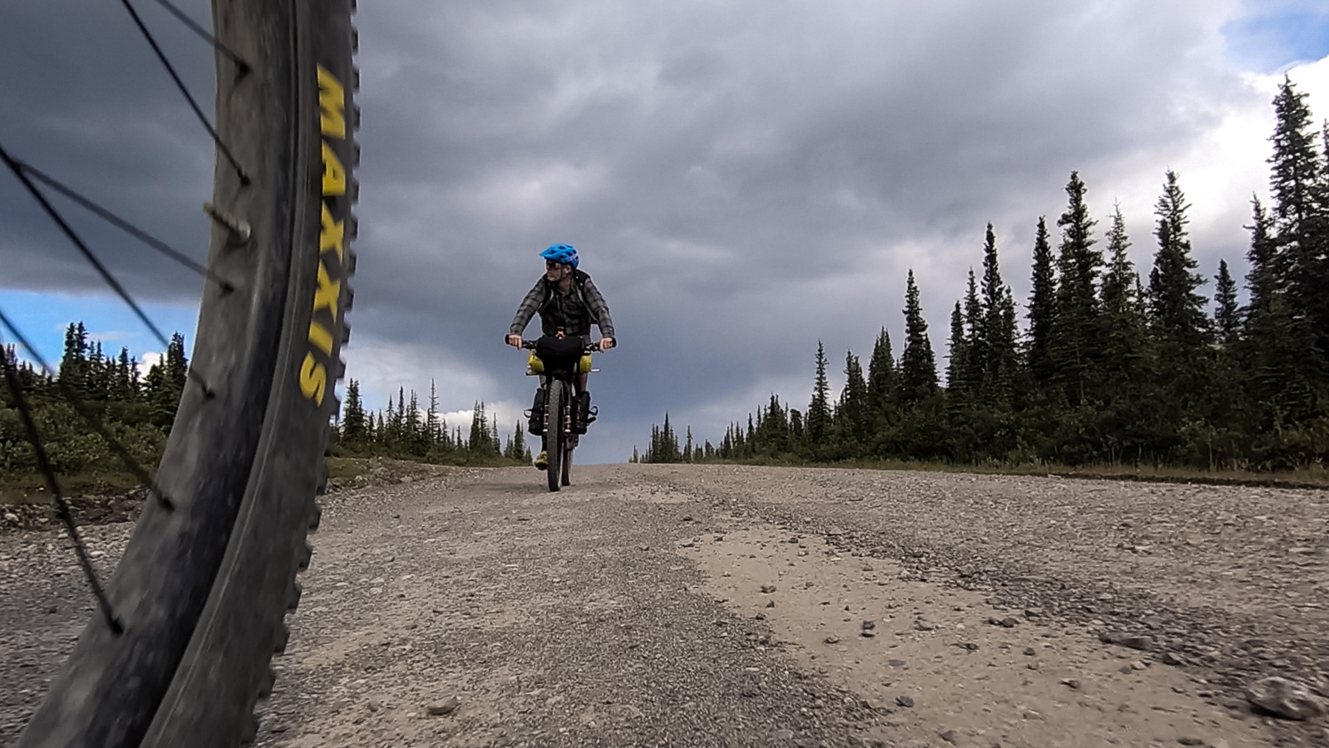 Bikepacking Alaska | The view from here