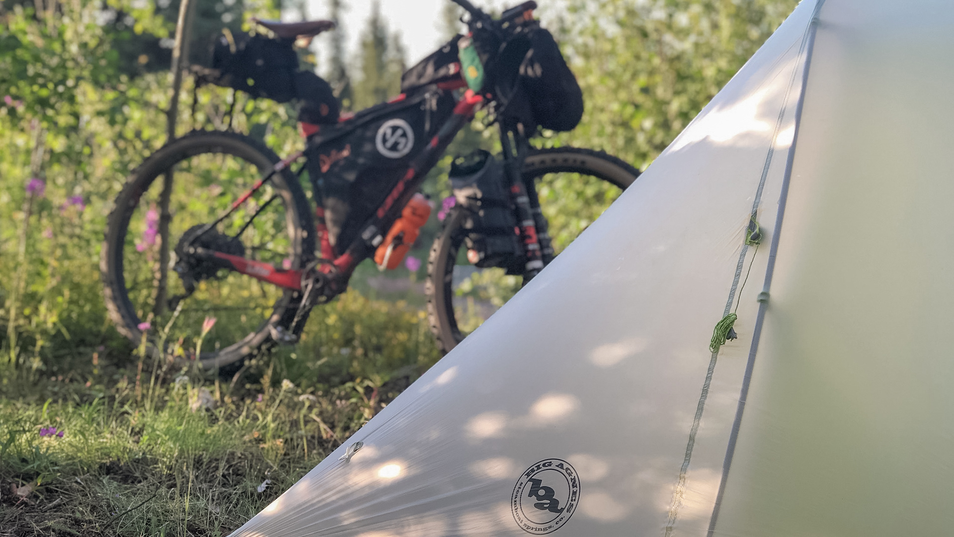 Bikepacking Alaska | Thanks to Big Agnes for the support