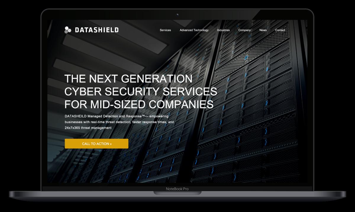 Datashield Cyber Security | Marketing, Branding, Web Design