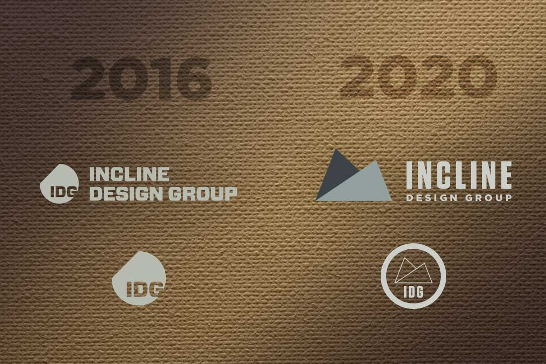 2016 to 2020 IDG Brand Evolution