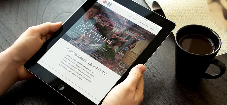 DOMA Trading | Web Design