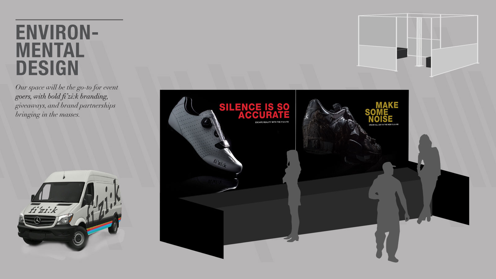 fi'z:k Club Americano Brand Activation | Environmental Design and Event Activation